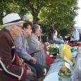 pour la première année la Résidence les Florances s'est inscrite à la brocante qui a lieu chaque année avenue Bergougnan
